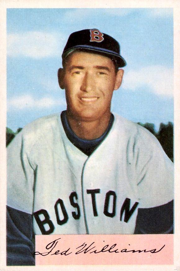 Ted Williams 1954 | Athletes | Pinterest