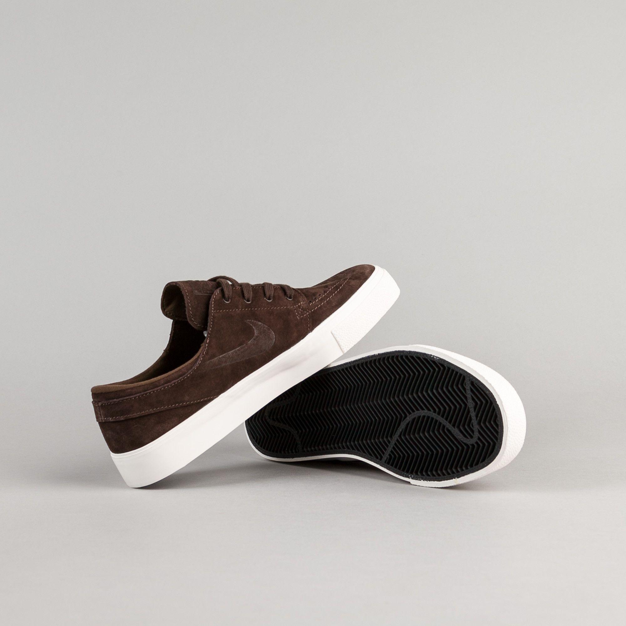 buy popular 81fed c7b49 Nike SB Stefan Janoski Premium HT Shoes - Baroque Brown   Baroque Brown -  Ivory