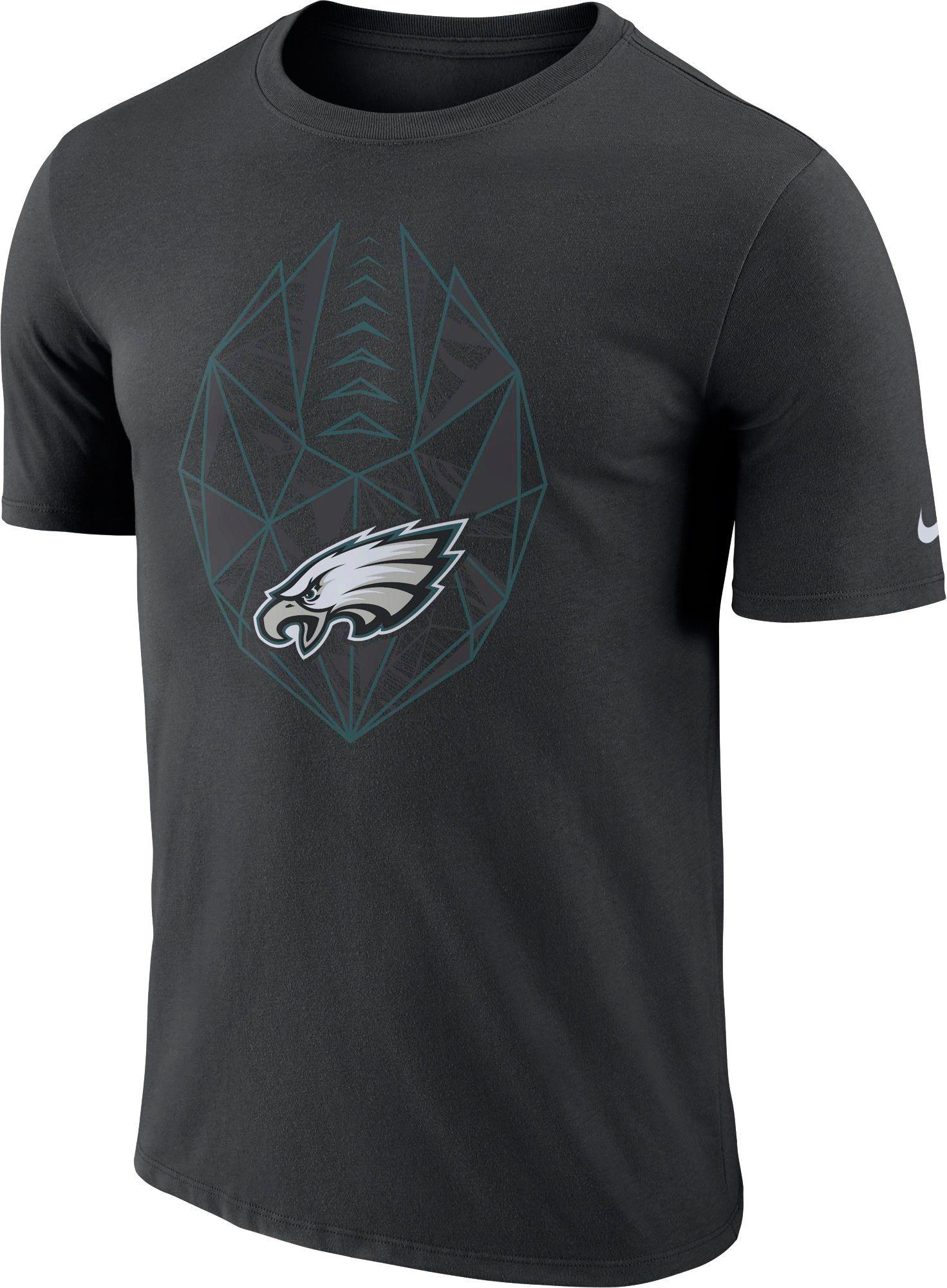 d544180e Nike Men's Philadelphia Icon Performance Black T-Shirt   Products in ...