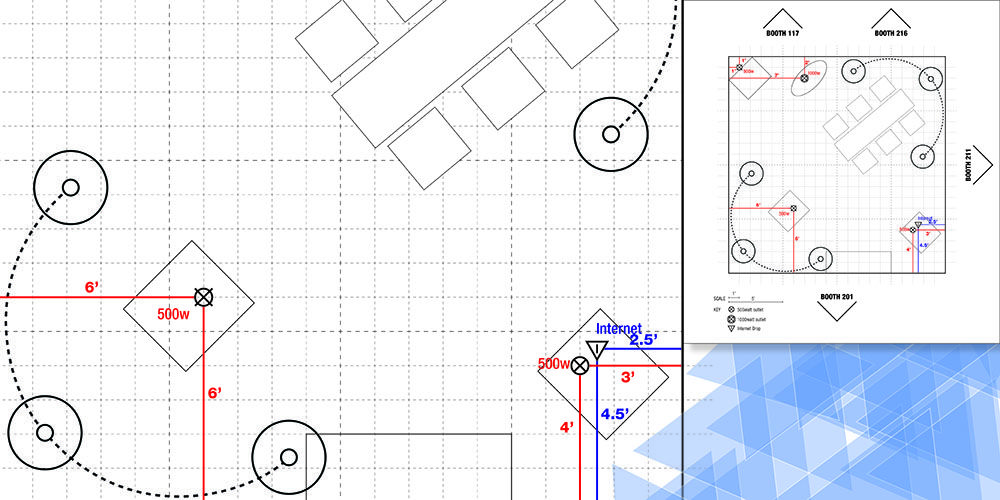 The Right Trade Show Floor Plan Design Is A Key Time Saver Trade