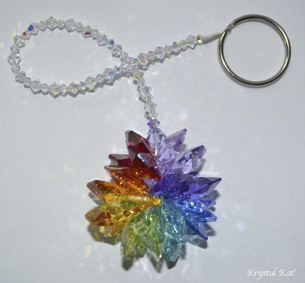 Crystal Suncatcher Rainbow of Colors