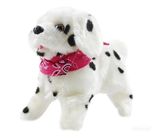 Haktoys Flip Over Puppy Battery Operated Somersaulting Walking