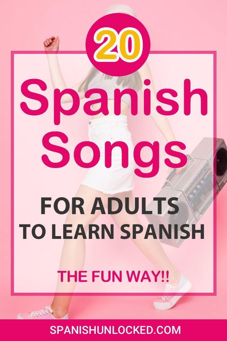 20 Popular Songs in Spanish: Spanish and Latin Songs for Learning Spanish Fast! | Spanish Unlocked