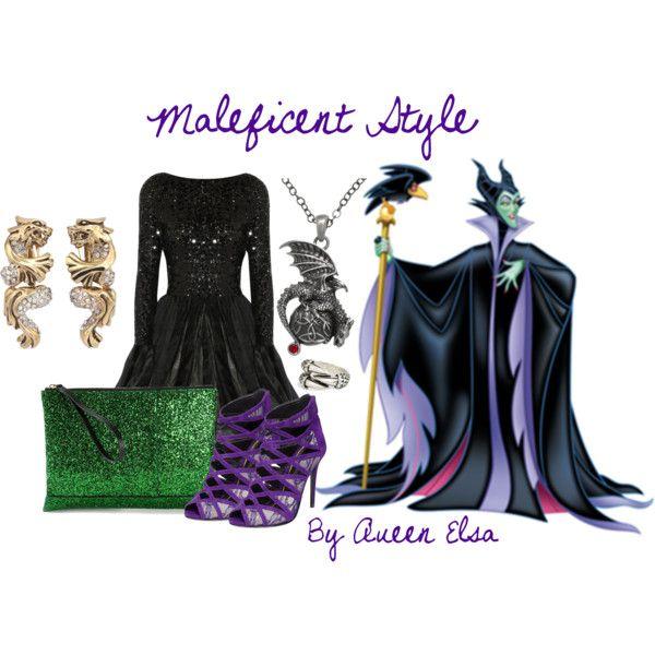 Maleficent Disneybound Disney Bound Maleficent Style