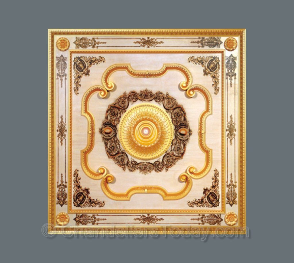 Square Ceiling Medallion Square B 020 Ceiling Medallions