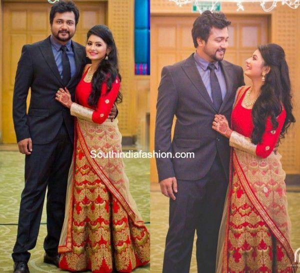 Reshmi Menon And Bobby Simhas Wedding Reception My Favourites In