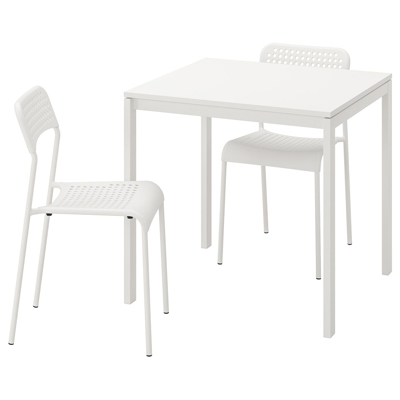 Melltorp Adde Table And 2 Chairs White 29 1 2 In 2020 Ikea