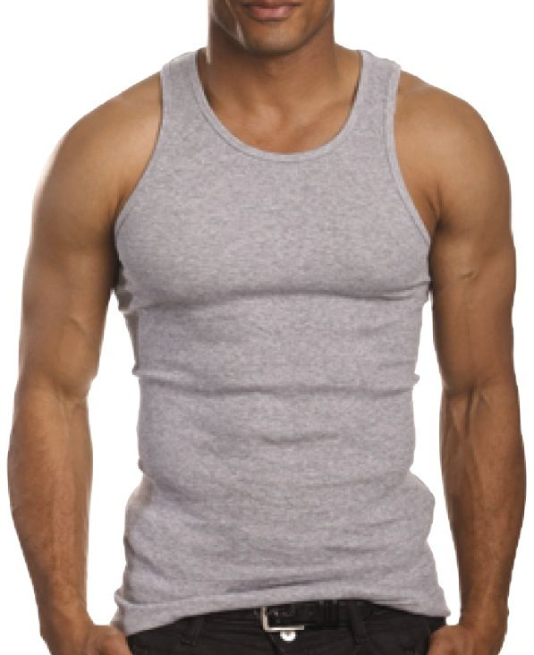Men's tank tops have come a long way since the plain, thin white cotton