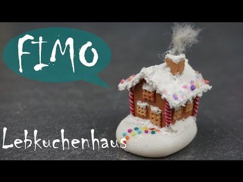 Mini Lebkuchenhaus ~ Fimo / Polymerclay/ Tutorial
