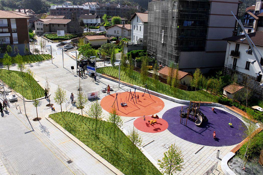 Atalaya park by g arquitectos arminza lemoiz bizkaia for Spaces landscape architecture