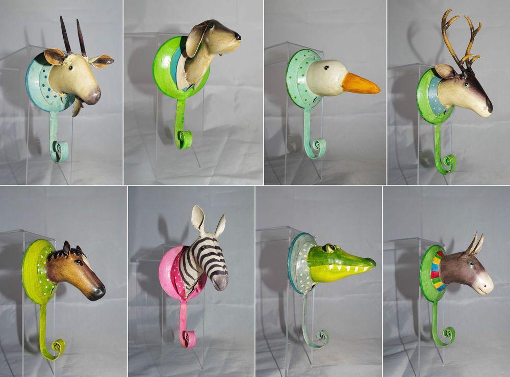 67 Awesome Fotos Von Garderobenhaken Tiere Metall