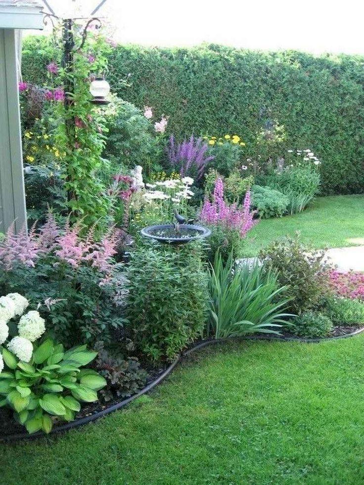 27 Stunning Cottage Garden Ideas for Front Yard Inspiration #vorgartengärten 27 Stunning Cottage Garden Ideas for Front Yard Inspiration
