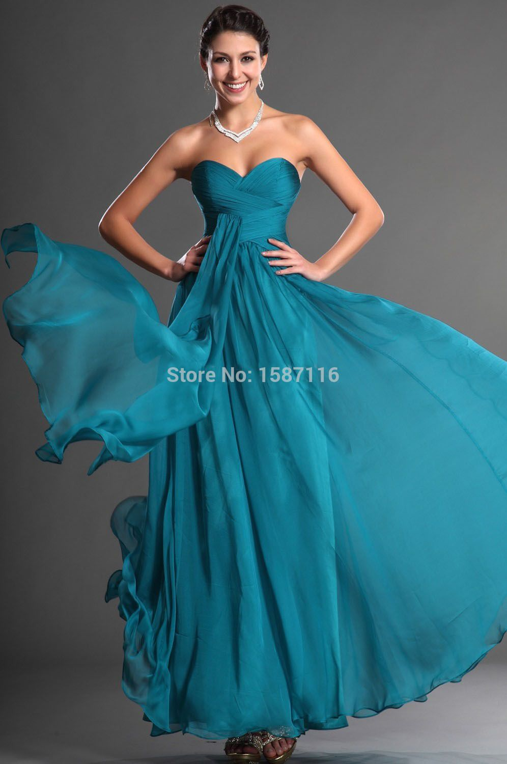 2015 custom high quality bridesmaid dress sweetheart long chiffon 2015 custom high quality bridesmaid dress sweetheart long chiffon turquoise bridesmaid dresses vestido turquesa mint dress ombrellifo Image collections