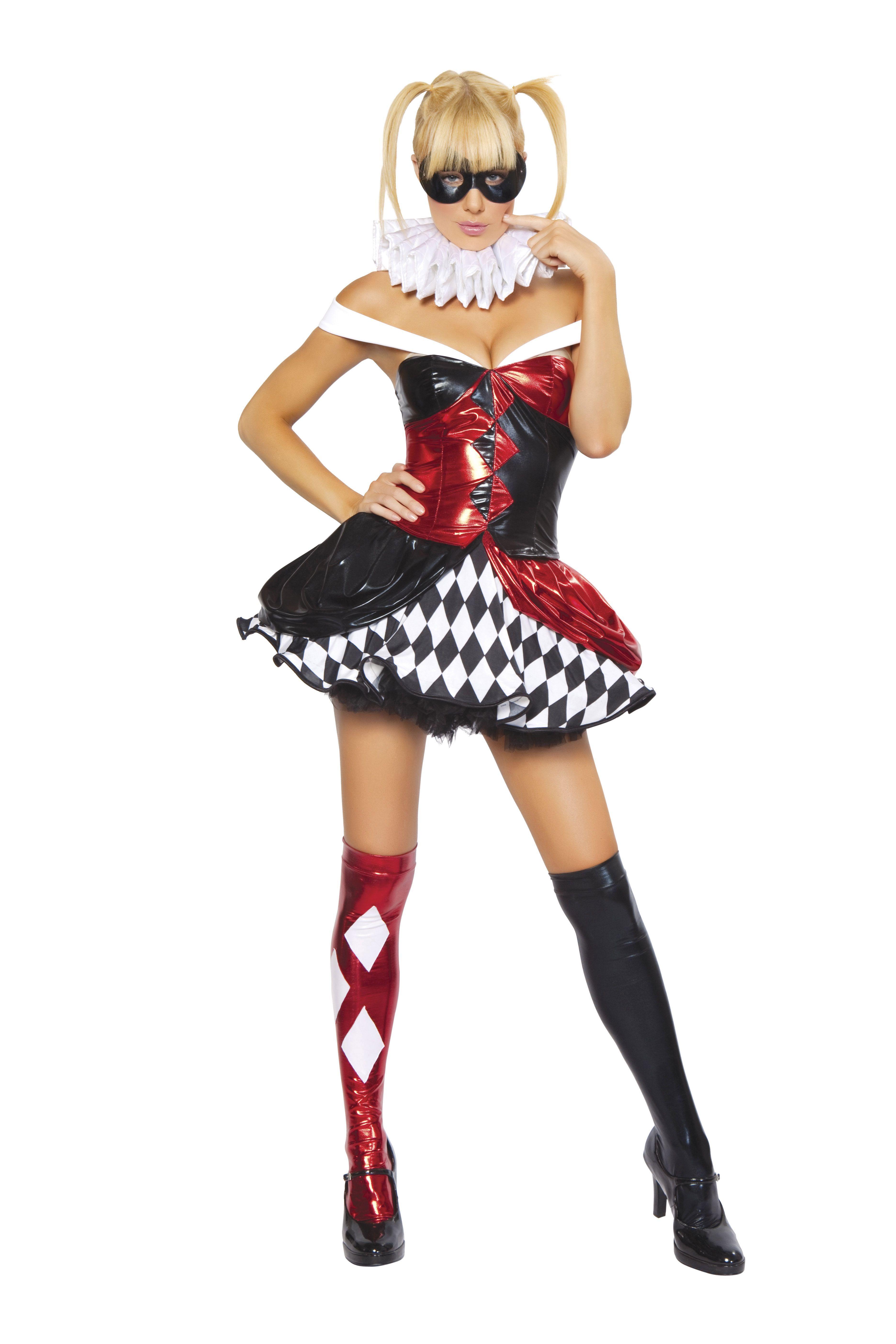 Sexy Clown Women Halloween Costume | $89.99 | The Costume Land  sc 1 st  Pinterest & Sexy Clown Women Halloween Costume | $89.99 | The Costume Land ...