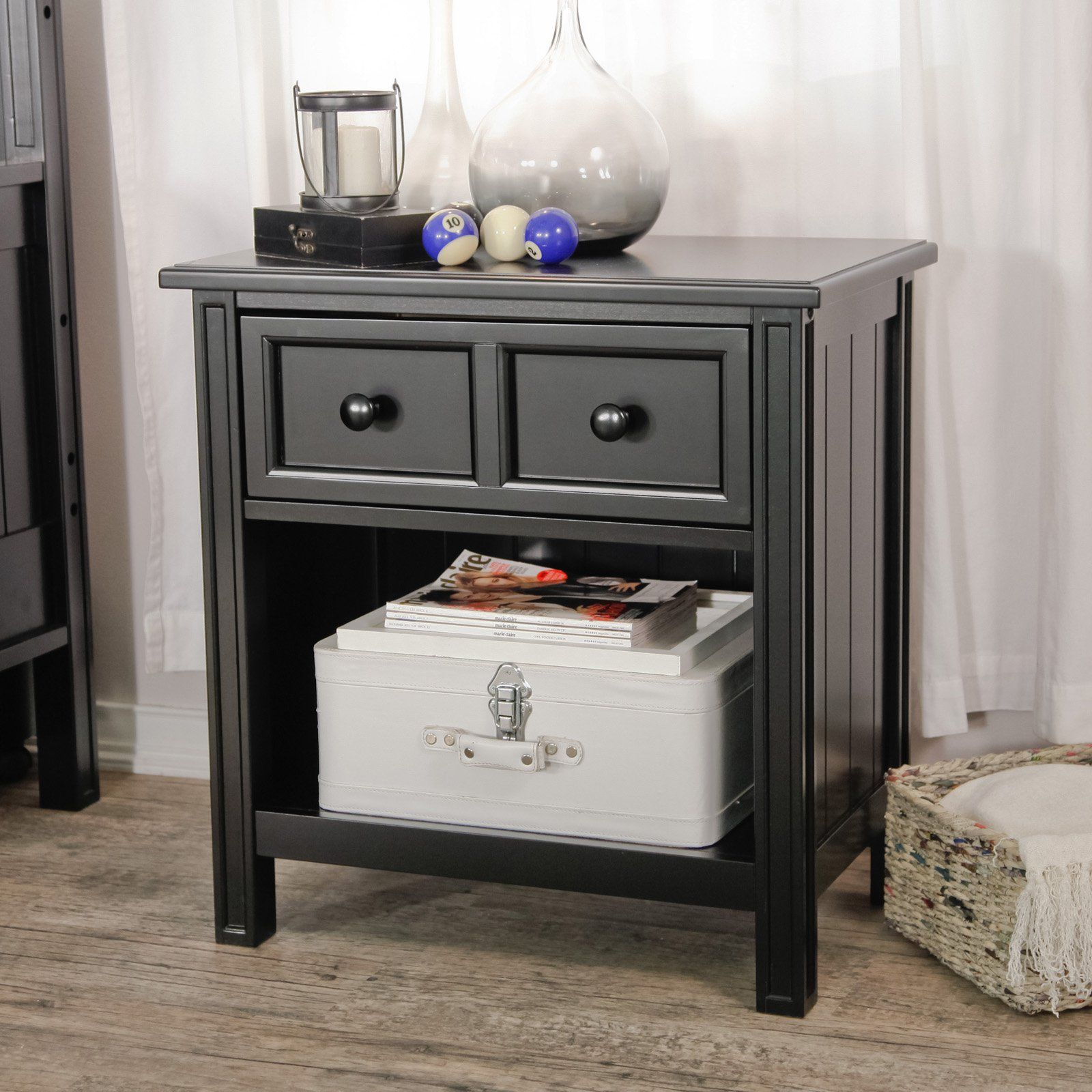Have To Have It. Belham Living Casey 1 Drawer Nightstand
