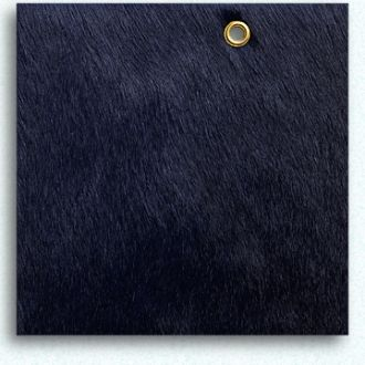 Navy Hair On Cowhide Upholstery Fabric From Edelman Leather Navy
