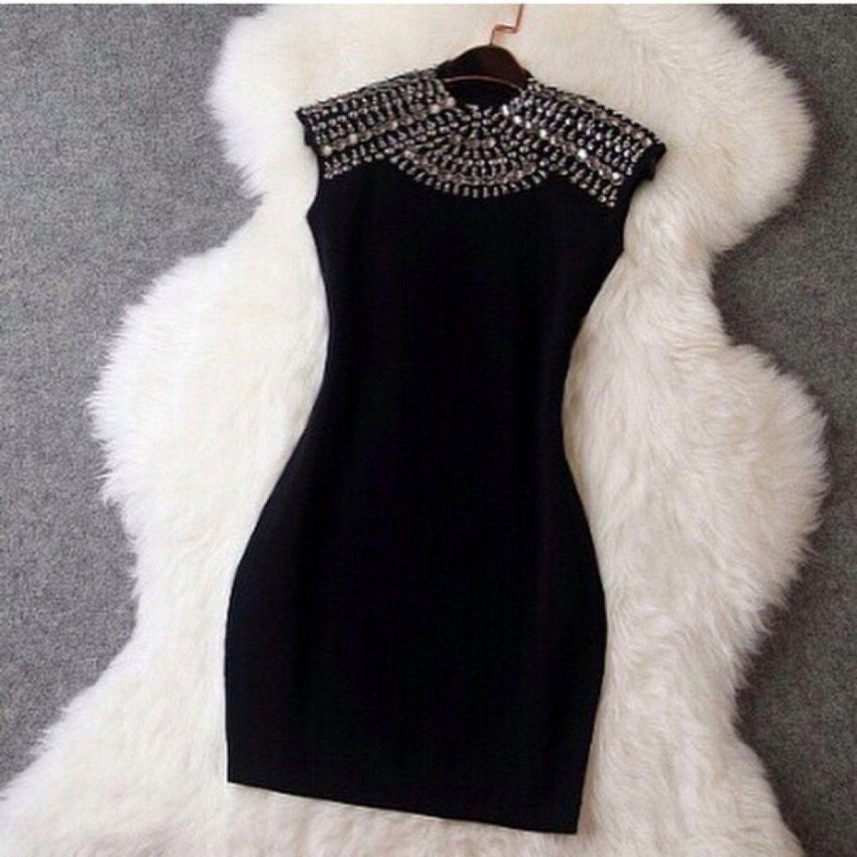 Vestido preto onde comprar