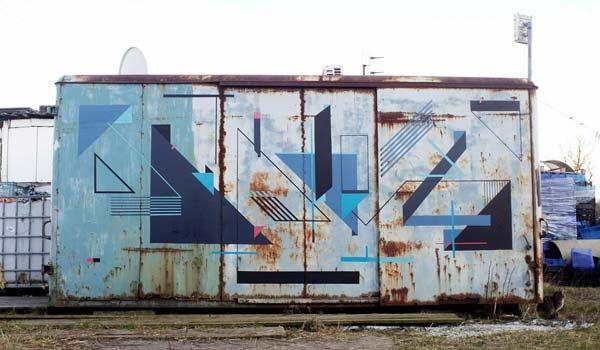 Street art in Poland by Seikon #seikon #poland #streetart #art #graffiti