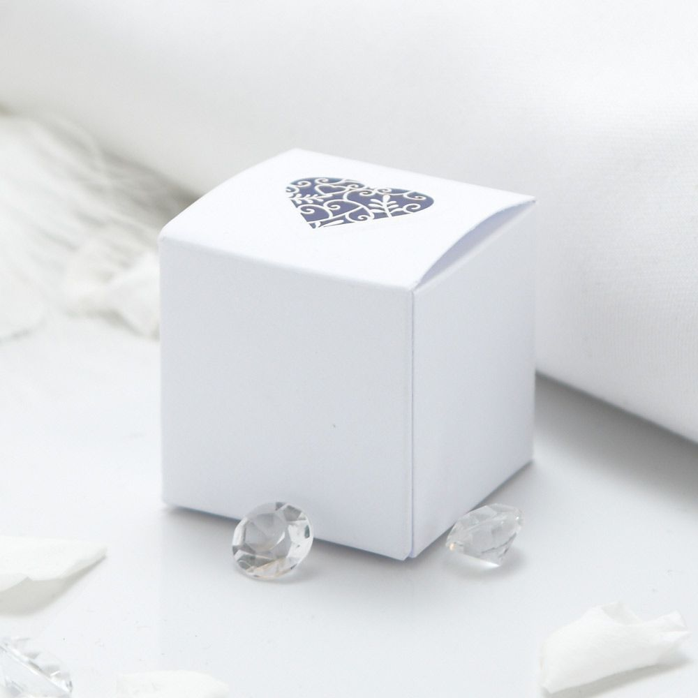 Grace Wedding Favour Boxes - 10 Pack | DIY (Hagalo Usted Mismo ...