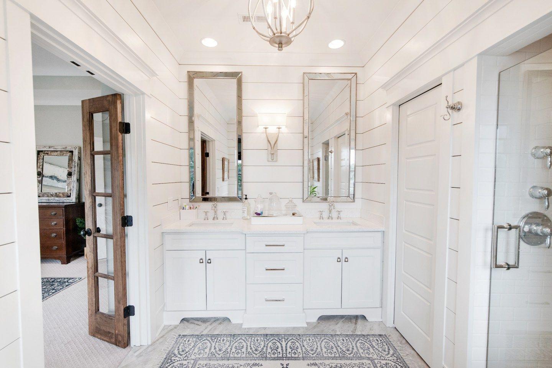 Restoration Hardware Inspired Bathroom Design The Look For Less #restorationhardware