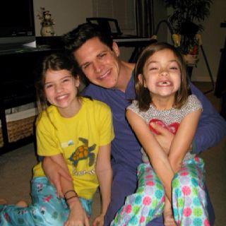 The three amigo's, both girls love their uncle Bryan!
