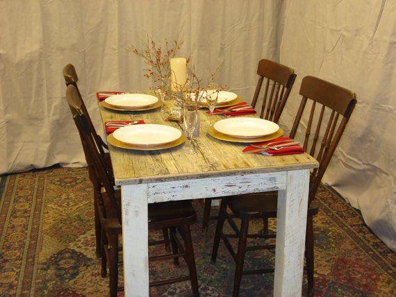 Farmhouse Table Dining Room Table Driftwood Table 48 X 30 X
