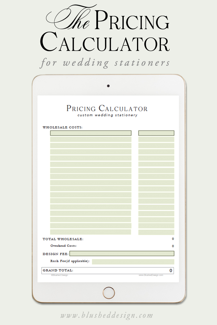 Stuck On How To Price Your Custom Wedding Stationery Use This Handy Pricing Ca Wedding Invitation Design Custom Wedding Invitations Custom Wedding Stationery