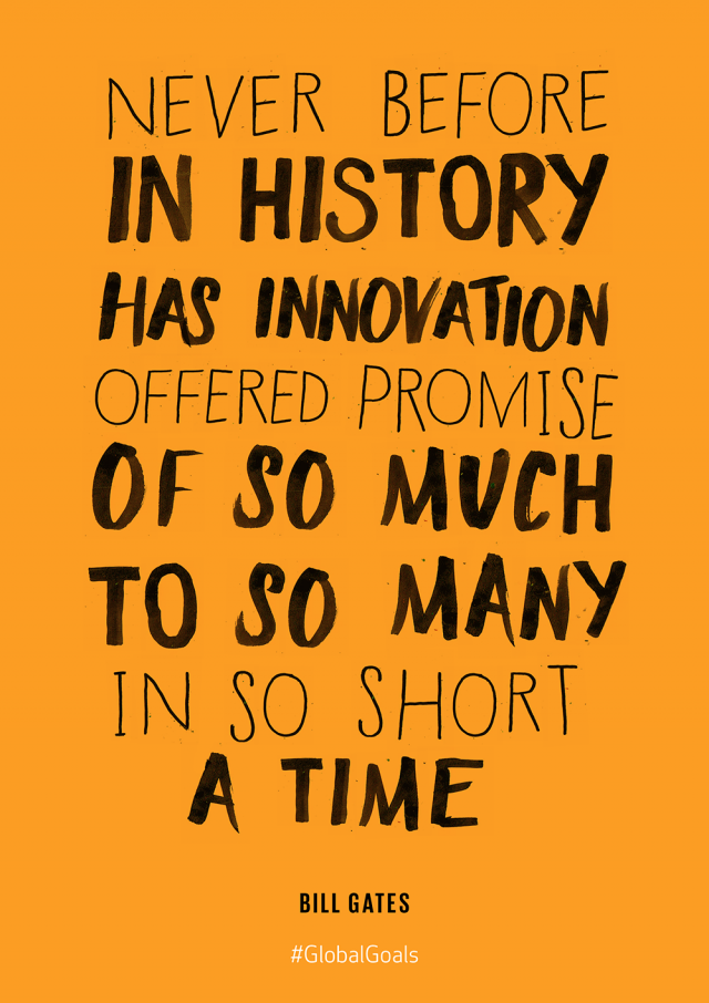 Innovation & Infrastructure Bill Gates Quote | Quotes | Innovation