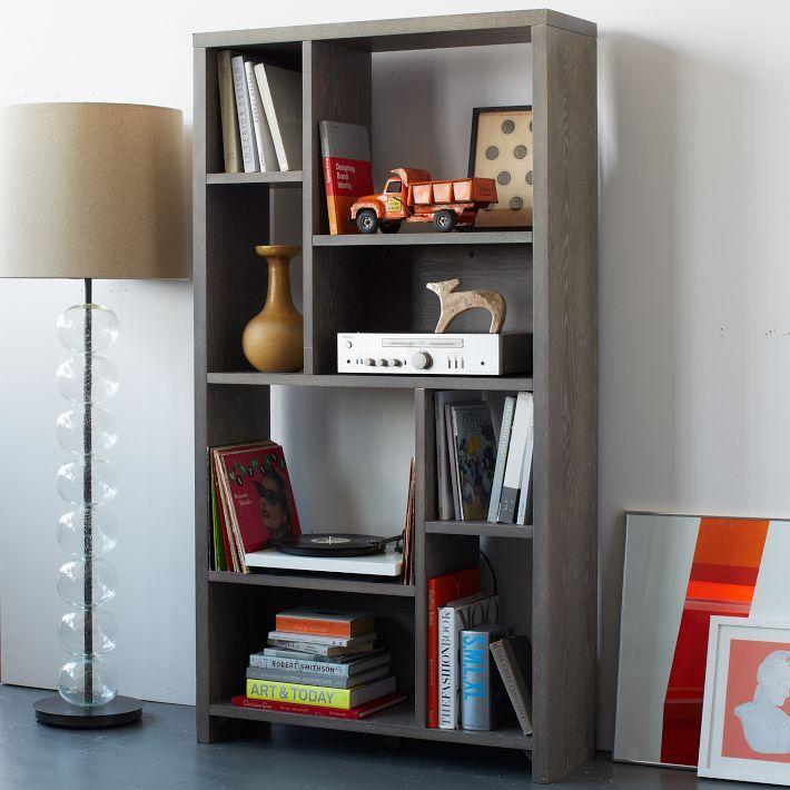 Librero muebles madera pinterest libreros muebles madera y proceso - Libreros de madera modernos ...
