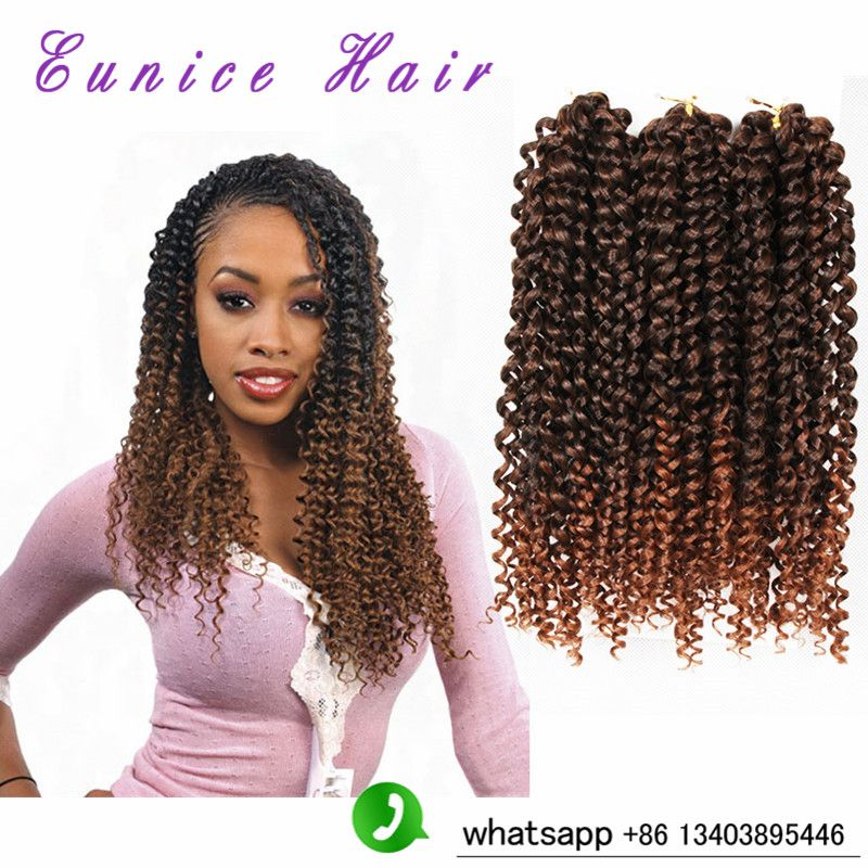 Ombre 1b30 Crochet Curly Hair Weaves Freetress Curly Crochet Hair