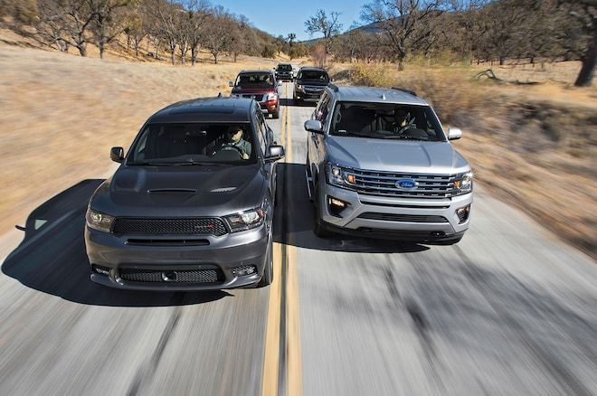 Beasts of Burden Ford Expedition vs. Chevrolet Tahoe vs