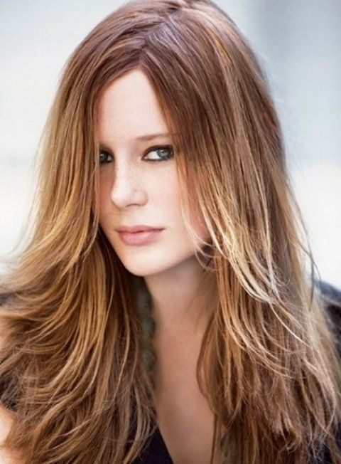Pleasing Thick Hair Straight Hairstyles And Long Hairstyles On Pinterest Short Hairstyles Gunalazisus