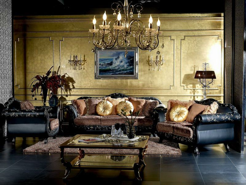 Artistic Classic Sofa For Vintage Living Room Vintage Living Room Design Beautiful Classic Sofas Luxury Chandelier