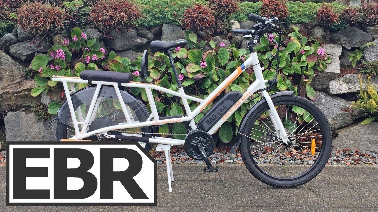 Rad Power Bikes Radwagon Video Review 1 6k Electric Cargo Bike Velof Electric Cargo Bike Power Bike Cargo Bike