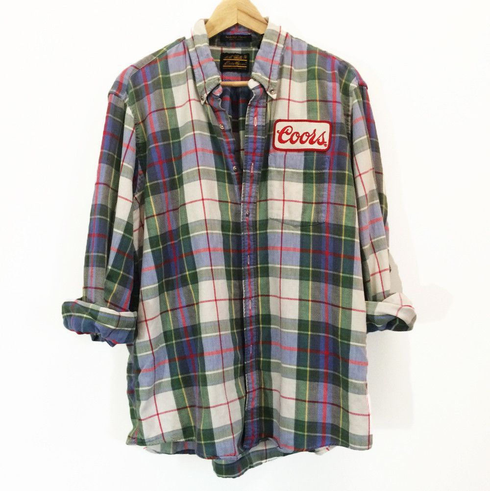 Coors Plaid Flannel