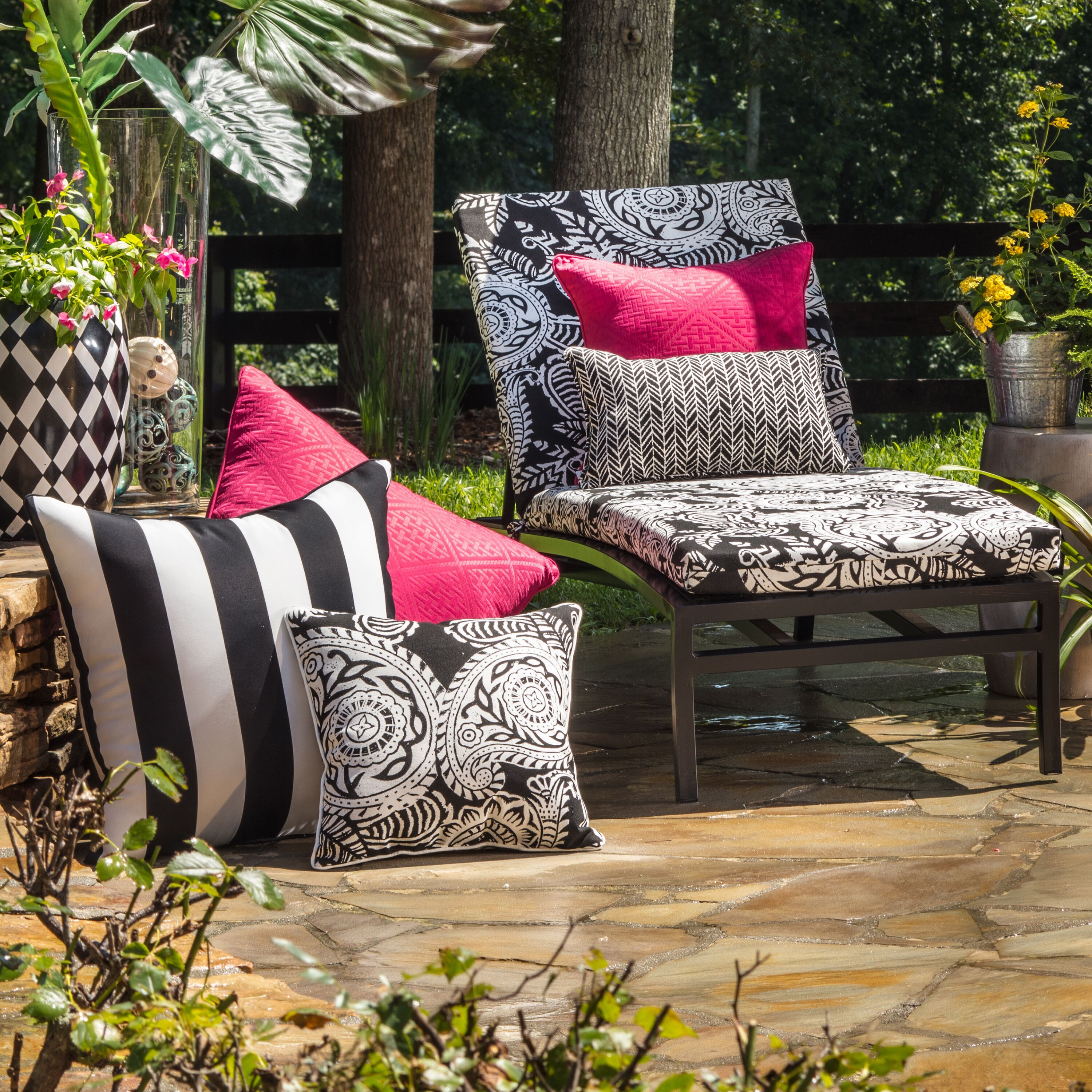 Elegance Awaits With Outdoor Cushions And Pillows Outdoor Cushions And Pillows Outdoor Patio Decor Colorful Patio