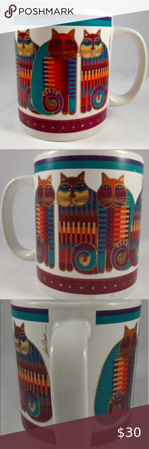 Laurel Burch Vintage Rainbow Cat S Cousin Mug In 2020 Rainbow Cat Laurel Burch Vintage Materials