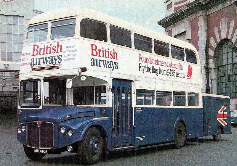 British Airways Routemaster Double Decker Bus London bus
