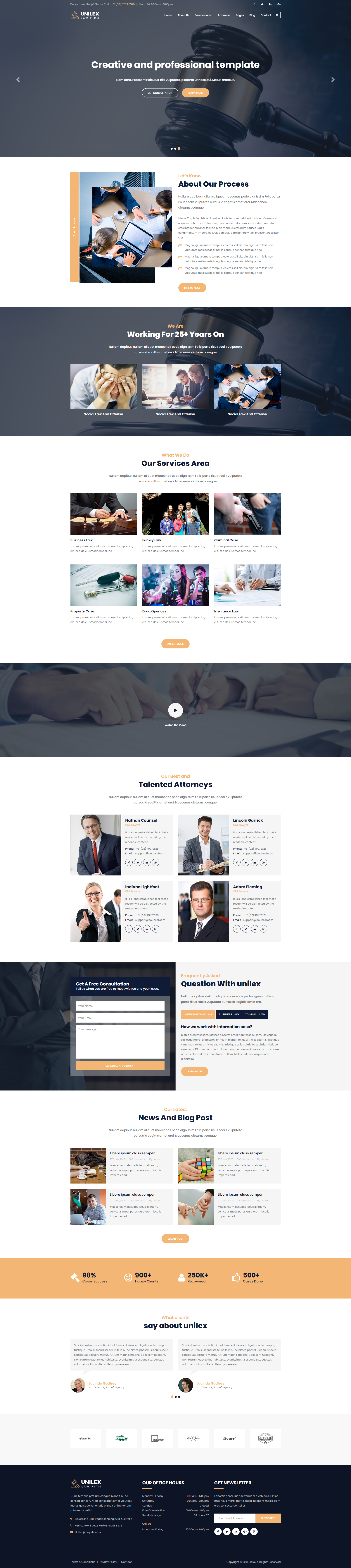 Unilex – law firm HTML5 Templateis a Mordant Law & Attorney ...