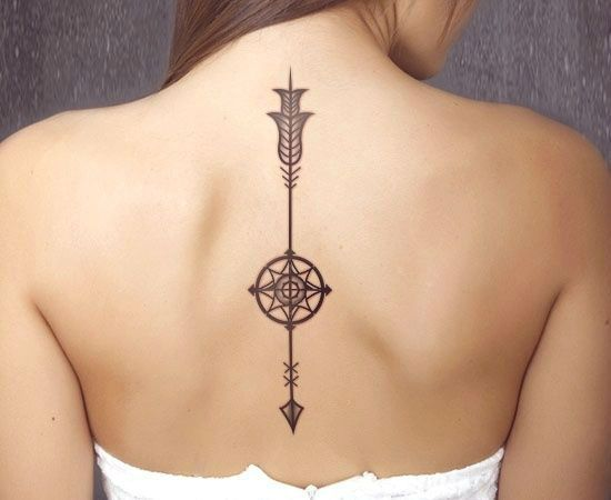 28 Sassy Tattoo Designs for the Spine Tatuajes Diseos para