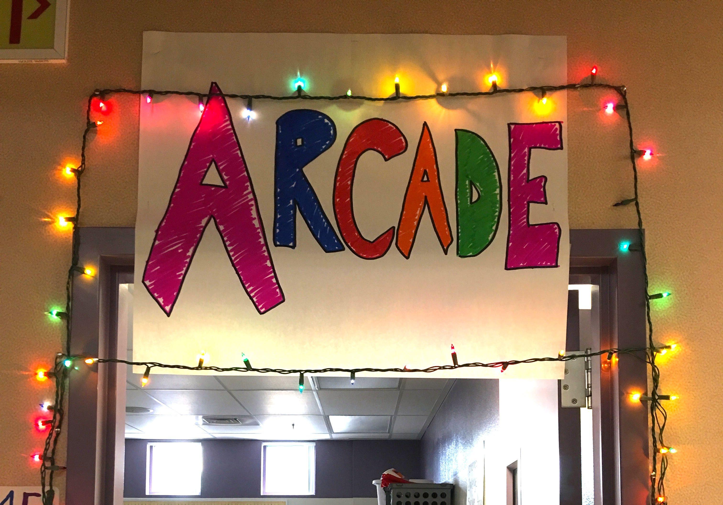 Studentrun arcade showcases video game designs and