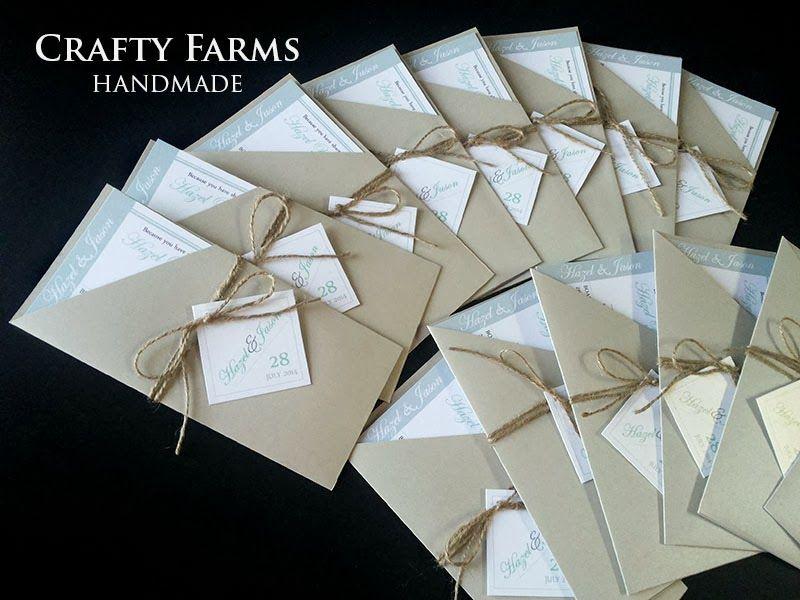 Tiffany Inspired Paper Bag Wedding Invitation Cards invitation - best of wedding invitation card kota kinabalu