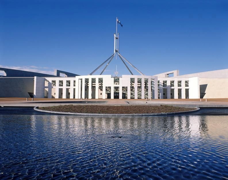 Visit the New Parliament House in Canberra boasting award