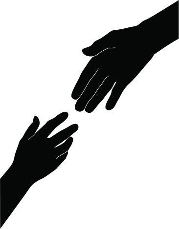 Helping Hands Free Vector Helping Hands Logo Hand Logo Helping Hands