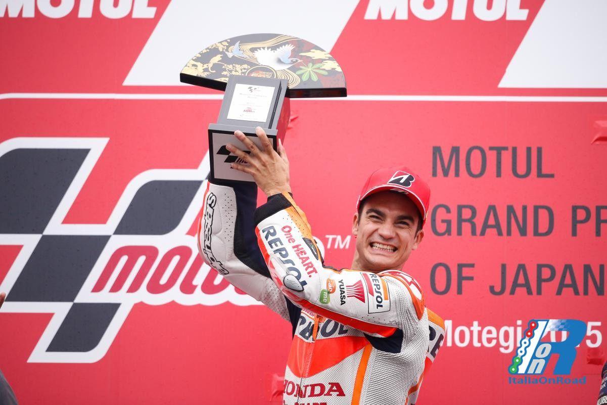 MotoGP Motegi: Pedrosa scala la vetta del podio, Rossi e Lorenzo seguono http://www.italiaonroad.it/2015/10/11/motogp-motegi-pedrosa-scala-la-vetta-del-podio-rossi-e-lorenzo-seguono/