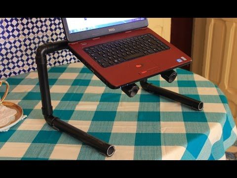 كيفية صنع طاولة للحاسوب النقال بثمن رخيص Youtube Cadeira De