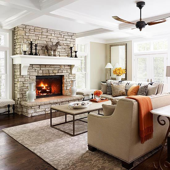 Fireplace Designs and Decorating Ideas Fireplace design, Hearths