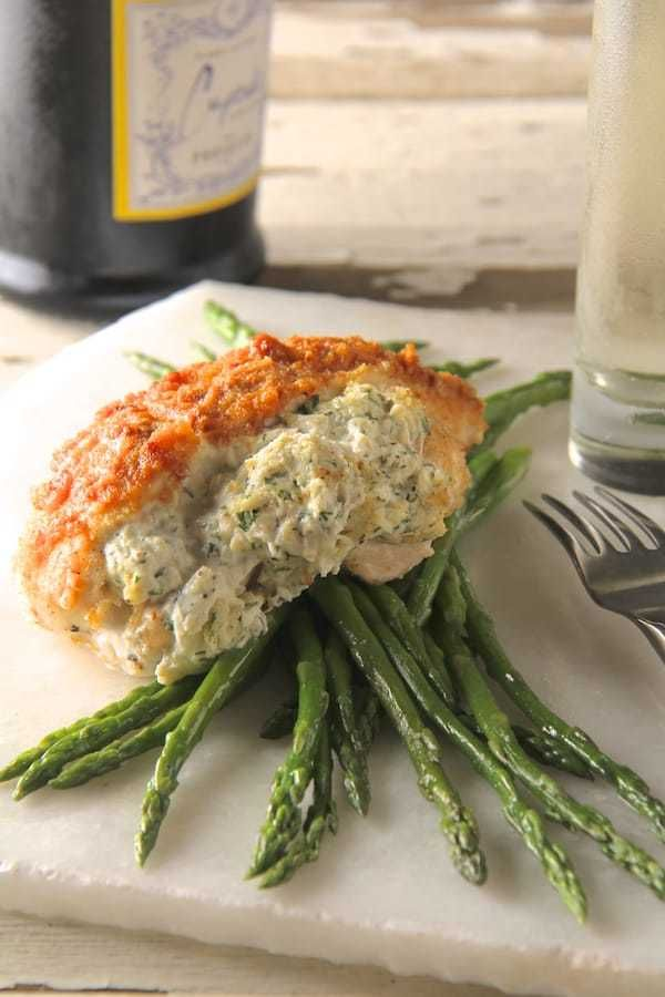 Crab-Stuffed Chicken Breasts 📲Tap to download the HeyFood ...