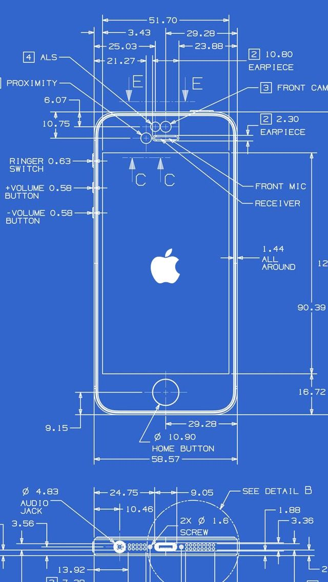 iPhone 5 Wallpapers HD - Retina ready, stunning wallpapers - copy blueprint network design