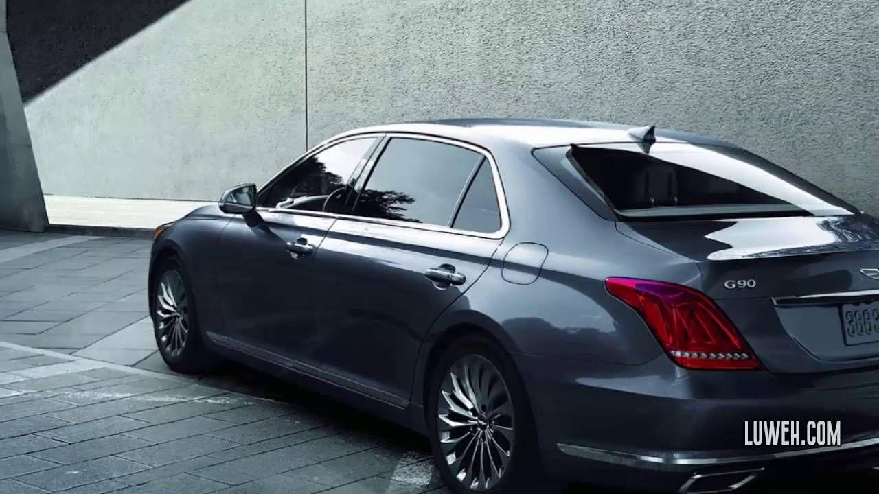 2017 Hyundai's Genesis G90 3.3L HTrac AWD System